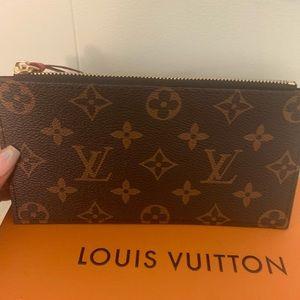 Wallet zip pouch